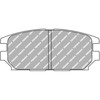 FCP1280H DS2500 Колодки для MITSUBISHI Lancer, Montero, Pajero, Shogun