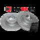 Комплект передних тормозных дисков и колодок Brannor для Land Cruiser 200/LX570 2007-2015 BR4.1624