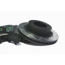 КОМПЛЕКТ ЗАДНИЙ:Тормозные диски DBA 2723ES T2+колодки DC brakes sHD Toyota  LC 200/ Lexus LX570,450D