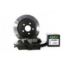 КОМПЛЕКТ ЗАДНИЙ Тормозные диски DBA 42637S T3+колодки DC brakes Street HDJEEP GRAND CHEROKEE 3.6 11->