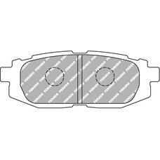 FCP4187H DS2500 Колодки для SUBARU LEGACY, SUBARU TRIBECA, TOYOTA FT, GT
