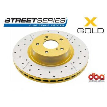 Тормозной диск DBA X GOLD 2709X Toyota CAMRY 06-,11- RAV4 02/06-,ES 12-передний