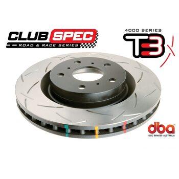 Тормозной диск DBA T3 42348S INFINITI QX56 2008->; Q80 350mm передний
