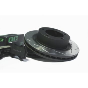 КОМПЛЕКТ ЗАДНИЙ:Тормозные диски DBA 2723S T2+колодки DC brakes sHD Toyota  LC 200 / Lexus LX570,450D