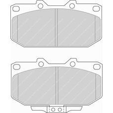 FDS986 DS PERFOMANCE Колодки для NISSAN 200SX, 300ZX, Skyline, SUBARU Impreza