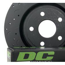 КОМПЛЕКТ ЗАДНИЙ. JEEP Grand Cherokee WK2 3.6 2011-> ; Тормозные диски Hawk + колодки DC Brakes HD+