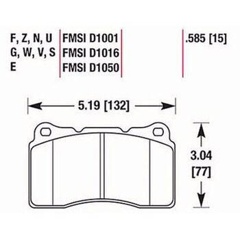Тормозные колодки HAWK HB453R585 на Mitsubishi Lancer Evolution, SUBARU Impreza STi