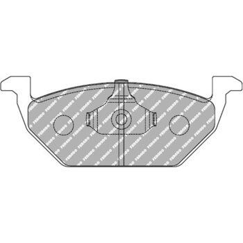 FCP1094H DS2500 Колодки для AUDI A2, A3, SKODA Fabia, Octavia, Yeti, VW Beetle, Golf, Jetta