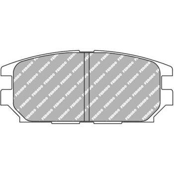 Тормозные колодки FERODO FCP1280R