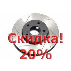 Тормозной диск DBA 42118SR для FORD FOCUS, VOLVO V40, V50, C30, C70, S40. Цена с учетом скидки 20%