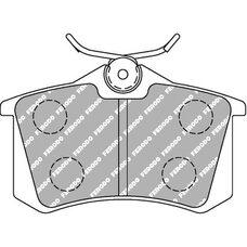 Тормозные колодки FERODO FCP541R для RENAULT CLIO RS, MEGANE RS, AUDI RS4, TT