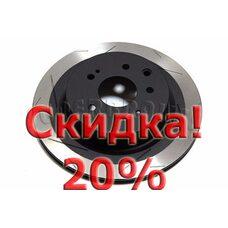 Тормозной диск DBA 42309SL для Nissan 350Z, Infiniti G25.G35, G37,  M35, M45, EX