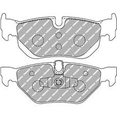 Тормозные колодки FERODO FDS1807 для BMW  X1, 1, 3