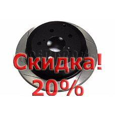 Тормозной диск DBA 2707SL LEXUS ES. Цена с учетом скидки 20%