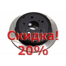 Тормозной диск DBA 42707SL для Toyota Camry ACV40R. Цена с учетом скидки 20%