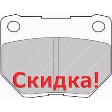 FCP1372X DS2.11 Колодки для SUBARU Impreza GD, GG