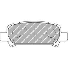 Тормозные колодки FERODO FCP1333H для Subaru Forester SF, SG