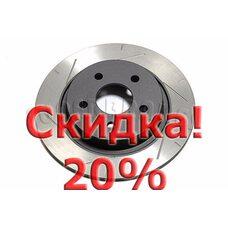 Тормозной диск DBA 42121SL для FORD FOCUS ST, VOLVO V40, V50, C30, C70, S40. Цена с учетом скидки 20%