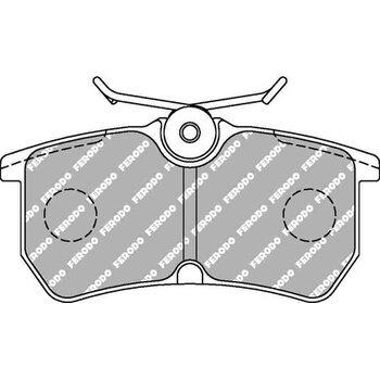Тормозные колодки FERODO FCP1319H для Ford Fiesta ST, Focus